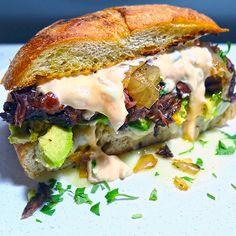 Ancho Braised Short Rib Sandwich