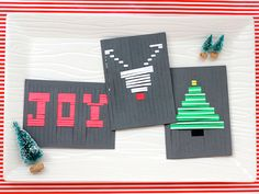 DIY Woven Family Card - iVillage