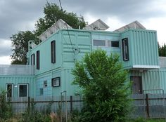 One of these days, I will try to build my very own shipping container house. :o)
