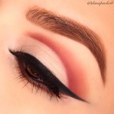 Ever wonder how to do a cut-crease look? Here's a step by step tutorial using warm neutrals. Try it and let's see how it turns out.