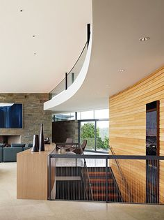 Otter Cove, Cliff Residence by Sagan Piechota Architecture