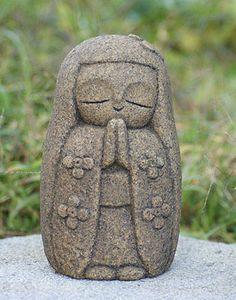 Stone-Jizo-Flower-girl-Handmade-stone-carving-production-sale-japan16
