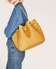 CONVERTIBLE BUCKET BAG-View all-BAGS-WOMAN | ZARA United States