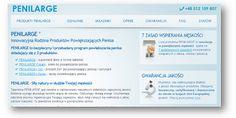 Sklep internetowy PENILARGE ® Innowacyjna Rodzina Produktów Powiększających Penisa – Zdrowie i Uroda