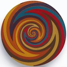 Africa | Woven telephone wire platter from South Africa.