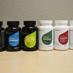 We are re-packaging our supplement bottles/labels, which do you like/dislike and why? Give us your feedback.