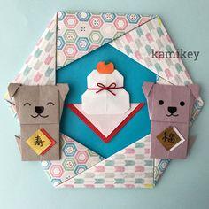 折り紙で戌年飾りのリースやしめ飾り Child Day, Advent Calendar, Paper Art, Origami, Gift Wrapping, Diy Crafts, Japanese, Wreaths, Holiday Decor