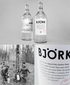 Birch sap from Umeå, Sweden by Linus Carlson