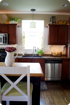 Thrifty Decor Chick: Show Us Your Kitchens!