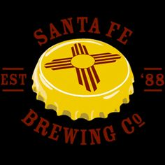 Santa Fe Brewing Co and Routes Bicycle Tours have teamed up on the ABQ Bike & Brew Tour Brewery Logos, New Mexico Santa Fe, Beer Caps, Brewing Company, Grand Opening, Good People, Craft Beer, Machine Embroidery Designs, Seasons