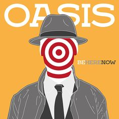 Oasis - Be Here Now - All content copyright 2016, Federico Gastaldi. All rights reserved. illustration, music, cover, album, conceptual, graphic, design, portrait, Federico Gastaldi, Salzmanart.com