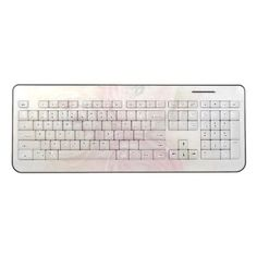 Ranunculus warm colors fade wireless keyboard  $53.00  by alicing  - cyo diy customize personalize unique