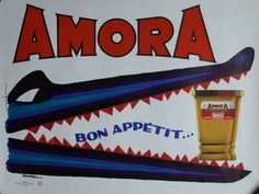 Moutarde Amora-1955