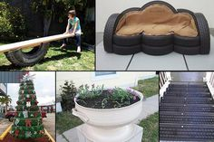 20 Brilliant Ways To Reuse And Recycle Old Tires