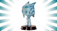 Holographic Ahsoka Funko Pop! figure