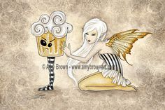 PRINTS-OPEN EDITION - Faery Sweets - Amy Brown Fairy Art - The Official Gallery