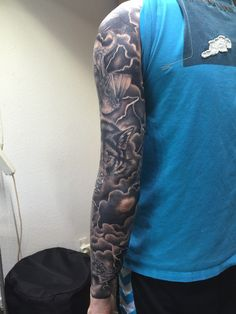 Viking tattoo sleeve
