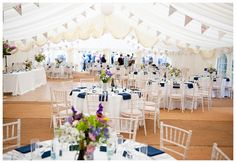 Before The Big Day - Marquee wedding ideas