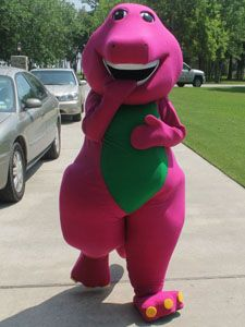 Characters/Themes   Party Characters For Kids: Barney Party