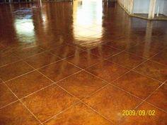 my cement floors :)