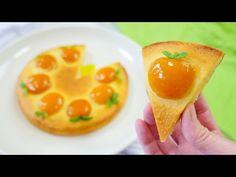 Apricot Cake あんずのケーキです 生卵でもナウシカの王蟲の眼でもパックマンでもありません - YouTube