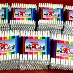 Spidol colours Azam & Nuh