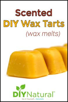 I make DIY wax tarts in many different scents to cover any funky smells in our old house. Making them saves money and ensures the ingredients are natural. Fun Diy Crafts, Diy Craft Projects, Diy Wax Melts, Types Of Wax, Diy Beauty Projects, Weekend Crafts, Essential Oil Scents, Wax Tarts, Diy Skin Care