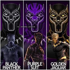 "11.8k Likes, 134 Comments - Nathan (@hero.league) on Instagram: ""Different #blackpanther (including #goldenjaguar ) suits! Which is your favourite? Comment down…"""