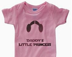 """Star Wars Baby Outfit - """"Daddy's Little Princess"""""""