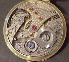 Schlup & Co Pocket Watch Movement