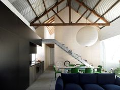 From disused 1890's shed to a modern, liveable and sustainable home.