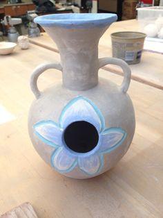 Finished udu drum perspective 1