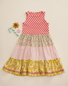 Be Merry Tiered Tank Dress