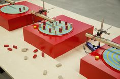 a music machine which allows anyone to create and experiment with music, in a playful and tangible way.