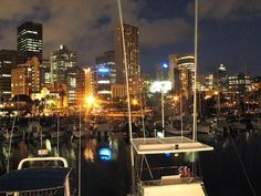 durban at night from the yacht club      - Awesome South Africa. Think about Immigration to South Africa
