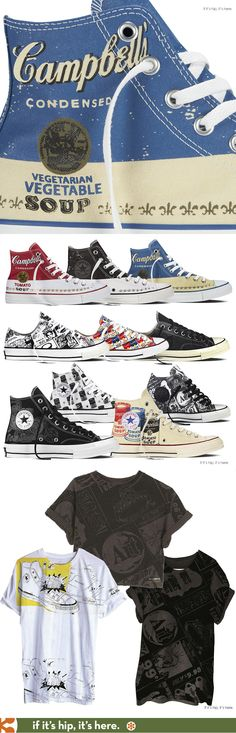 aea236612be The Converse Chuck Taylor All Star Andy Warhol Collection