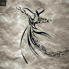 می چرخم و می رقصم و می نوشم از این جام بی خود شده از خویشم و از چرخش ایام مولانا***