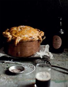 Beef And Guinness Pie Recipe Guinness Pies Guinness And Pie Recipes Beef And Guinness Pie, Guinness Pies, Guinness Recipes, Irish Recipes, Pie Recipes, Cooking Recipes, Lamb Recipes, Recipies, Saint Patrick