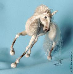 Игрушки животные, ручной работы. Ярмарка Мастеров - ручная работа Белогривая мечта. Handmade.