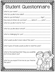 Adorable Student Survey Back To School Pencils And Magic Wands