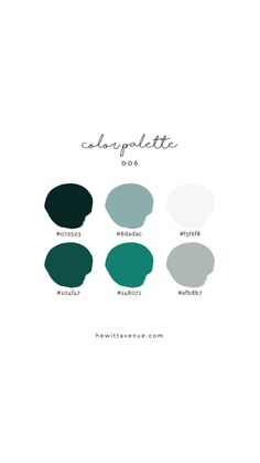 Find Hand Lettered Home Decor and Learn Hand Lettering by HewittAvenue Ocean, blue, teal color palette – really love these colors! Modern Color Palette, Blue Colour Palette, Colour Schemes, Modern Color Schemes, Ocean Colors, Color Stories, Art Design, Color Theory, Pantone Color