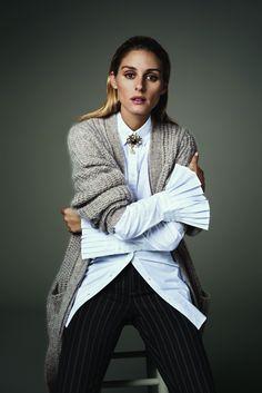 Olivia's new Banana Republic looks are exactly what your winter wardrobe needs.
