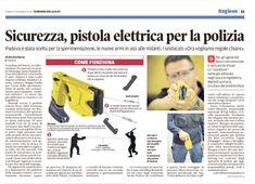 Pistola TASER. Rassegna Stampa - UGL Polizia di Stato
