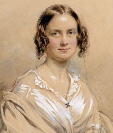 Emma Darwin, 1840, by George Richmond, ©English Heritage. Credit: Darwin Heirlooms Trust.