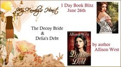 VampyreLady's Cover Reveals, Blog Tours, New Releases & All Things Bookish: The Decoy Bride & Delia's Debt Blitz