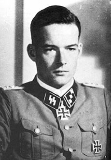 Rudolf von Ribbentrop is a former German Waffen-SS Captain who served in World War II. He is the son of the German diplomat and Foreign Minister Joachim von Ribbentrop. Ribbentrop distinguished himself in the Continuation War.