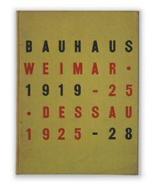 Bauhaus catalog by Herbert Bayer - Eames Office