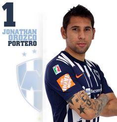 Jonathan Emmanuel Orozco Domínguez        Fecha y lugar de nacimiento: 12 de mayo de 1986 Monterrey, N. L.  Fecha de debut en Primera División: 13 de agosto de 2005