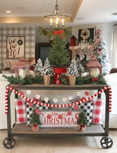 Our best Christmas decorating ideas to create a festive farmhouse Christmas using vintage-inspired decor. Create the setting for your family's own traditions with festive farmhouse decor. Get plenty of inspiration and sources to shop for your own home this holiday season all on a budget. #ad #TSCHoliday #TractorSupply #farmhousedecor #christmasdecorating #thedesigntwins