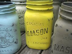 The Simple Craft Diaries: Distressed Mason Jars